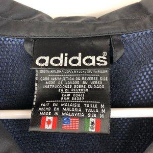 adidas Jackets & Coats - VTG 90's Adidas Trefoil Windbreaker Jacket Retro